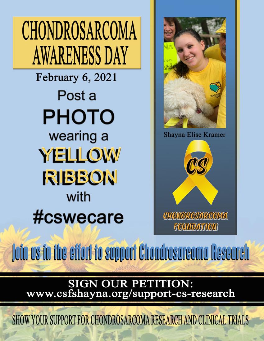 Chondrosarcoma Awareness Day